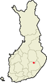 Location of Varkaus in Finland.png