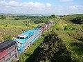 Locomotivas do comboio que passava sentido Boa Vista na Variante Boa Vista-Guaianã km 193 em Itu - panoramio.jpg