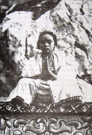 Loetoeng Kasaroeng - A promotional still showing one of the cast members, in costume