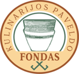 Logo of the Lithuanian Culinary Heritage Foundation used to mark the food produced using traditional Lithuanian way.