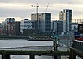 London-Greenwich Peninsula construction site 2015.jpg