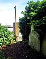 London-Woolwich, St Mary's Gardens, northeastern park entrance 2.jpg