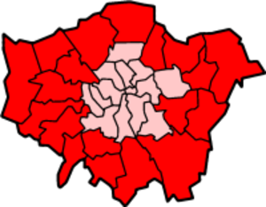 Outer London - Image: London Outer Census
