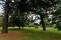 London - Kew Gardens - Pavilion Restaurant - View SSW towards Pagoda 1762.jpg