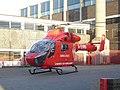 Londons Emergency Helicopter in S. Norwoood Pool Car park - panoramio.jpg
