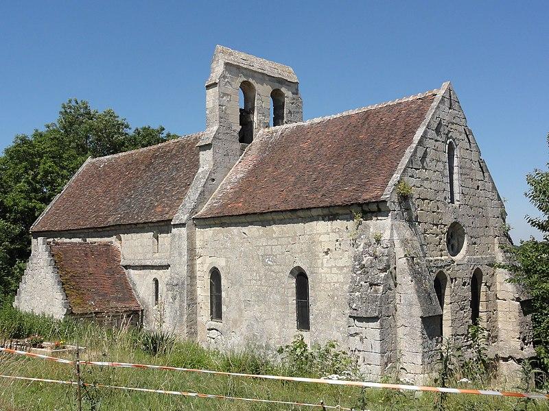 Longueval-Barbonval (Aisne) église de Barbonval