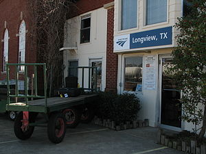 Longview Texas Amtrak station 2.jpg