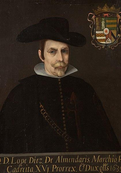 Retrato de Díaz de Armendáriz, Lope.