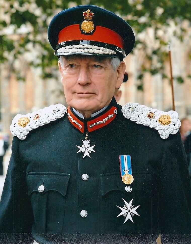 Lord Crathorne in Lord Lieutenant%27s Uniform