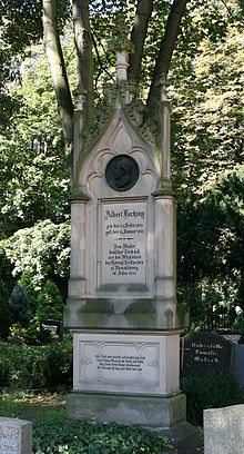 Lortzing's tomb in Berlin (Source: Wikimedia)