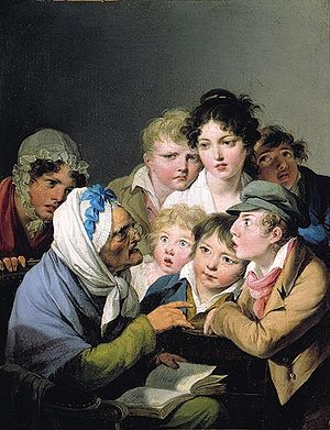 Maria Tatar - Louis-Léopold Boilly's And the Ogre Ate Him Up!, used in Maria Tatar's Enchanted Hunters: The Power of Stories in Childhood