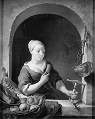 Girl with a Distaff
