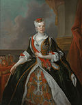 Louis de Silvestre - Portrait of Maria Josepha of Austria (after 1737) - Google Art Project.jpg