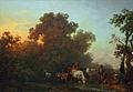 Loutherbourg-Paysage avec troupeau, berger et bergère près d'un ruisseau, le matin.jpg