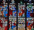 Louviers - Eglise Notre-Dame - Vitrail des Apparitions du Christ après sa Résurrection (baie n°20).jpg