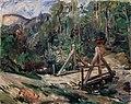 Lovis Corinth - Tiroler Landschaft mit Brücke - 2885 - Österreichische Galerie Belvedere.jpg
