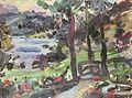 Lovis Corinth Garten am Walchensee 1923.jpg