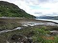 Low Tide at Eilen Donan - panoramio.jpg