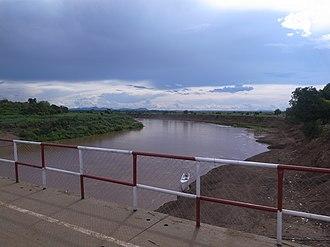 Omo River - Omo river crossing