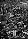 Luchtfoto Maastricht, Koningsplein & Wittevrouwenveld, 1962.jpg