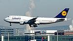 Lufthansa Boeing 747-400 (D-ABTK) at Frankfurt Airport.jpg