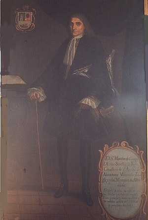Luis Sánchez de Tagle, 1st Marquis of Altamira - Luis Sánchez de Tagle, Marquis of Altamira