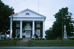 Lunenburg County, Virginia - Image: Lunenburg Courthouse