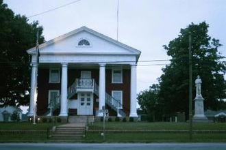 Lunenburg, Virginia - Lunenburg courthouse