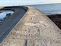 Lyme Regis Marina wall early evening.jpg