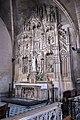 Lyon - église Saint-Bonaventure - Retable avec autel de la chapelle Notre-Dame.jpg