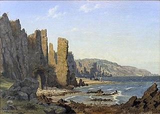A Rocky Coast. Rø, Bornholm
