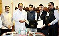 M. Venkaiah Naidu and the Minister of State for Power, Coal, New and Renewable Energy and Mines (Independent Charge) (1).jpg