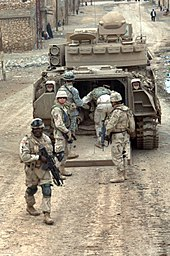 Bradley Fighting Vehicle - Wikipedia