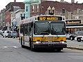 MBTA route 116-117 bus on Meridian Street, August 2015.JPG