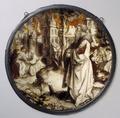 MCC-39560 Abraham aanschouwt de verwoesting van Sodom, links Lot met twee engelen, rechts Lot dronken gevoerd (1).tif