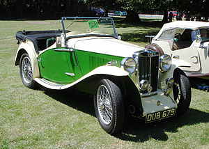 MG N-type - 1935 MG NB Magnette