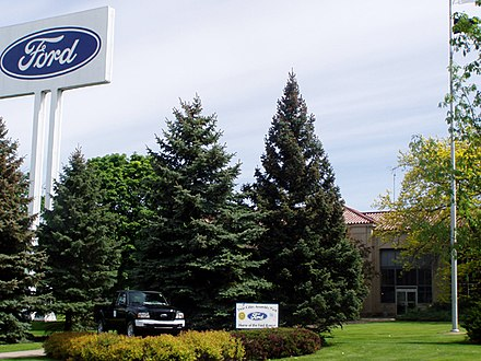 The Ford Motor Company's Twin Cities Assembly Plant in 2006