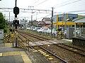 MT-Shinkawamachi Station-Crossing.jpg