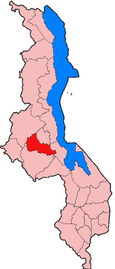 Location of Dowa District in Malawi