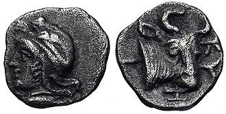 Pharnaces II of Phrygia - Image: MYSIA, Kyzikos. Circa 450 400 BC