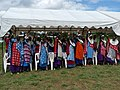 Maasai women recognize USAID literacy program (6595765855).jpg