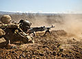 Machine gun team from 1 RAR during RIMPAC 2012.JPG