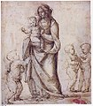 Madonna and Child with the Infant Saint John the Baptist and Two Putti (recto); Madonna and Child with the Infant Saint John the Baptist and a Putto (verso) MET sf-rlc-1975-1-271-r.jpeg