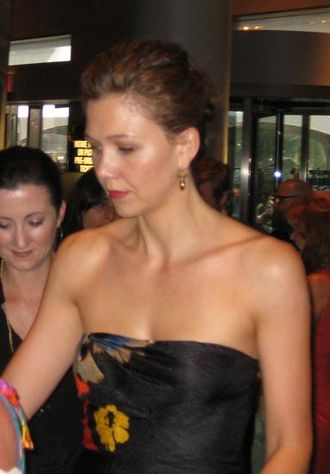 Maggie Gyllenhaal - Gyllenhaal at the premiere of The Dark Knight in New York City, July 14, 2008