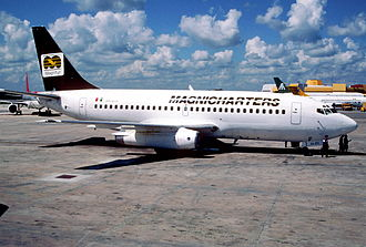 Magnicharters - A Magnicharters Boeing 737-200 in 1997