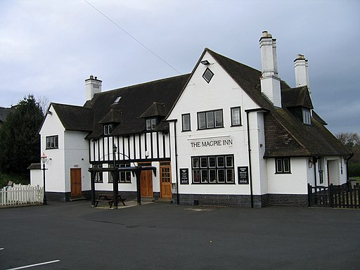 Creative Commons image of The Magpie Inn in Carlisle