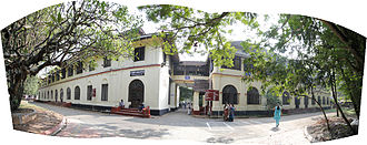 Entrance of the college. Maharajas Entrance.jpg