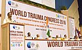 Mahesh Sharma addressing at the inauguration of the 3rd International Congress of the World Coalition for Trauma Care and 8th Annual Conference of the Indian Society for Trauma and Acute care, in New Delhi.jpg