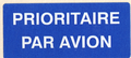 Mail label of Omniva - Prioritaire - Par Avion.png