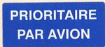 Mail label of Omniva - Prioritaire - Par Avion.png